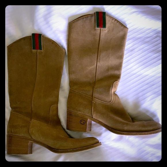 Gucci Shoes | Gucci Cowboy Boots